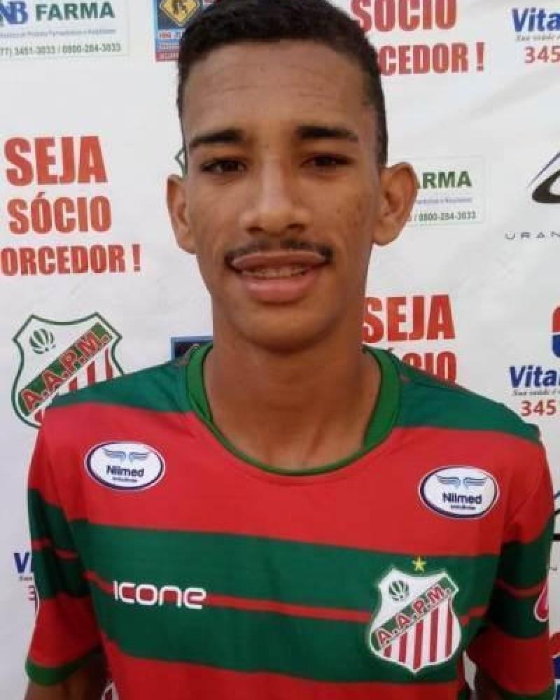 Detalhes do jogador 34 - Nabio Borges dos Santos (Ná)