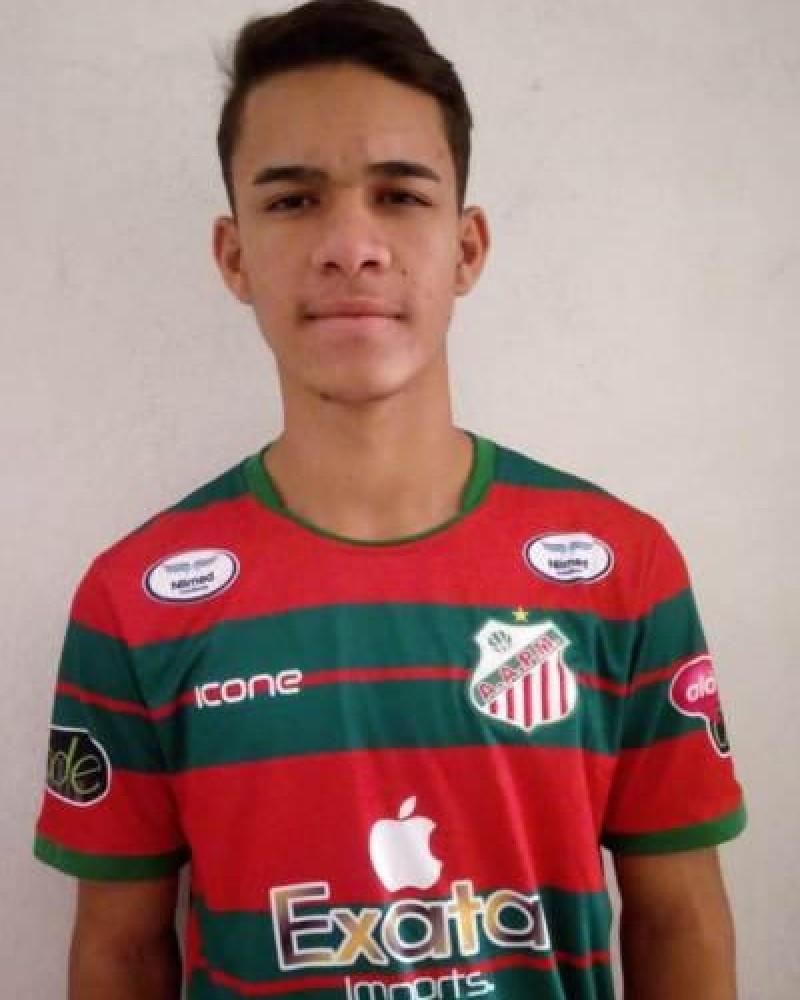 Detalhes do jogador 01 - João Henrique Rodrigues de Souza