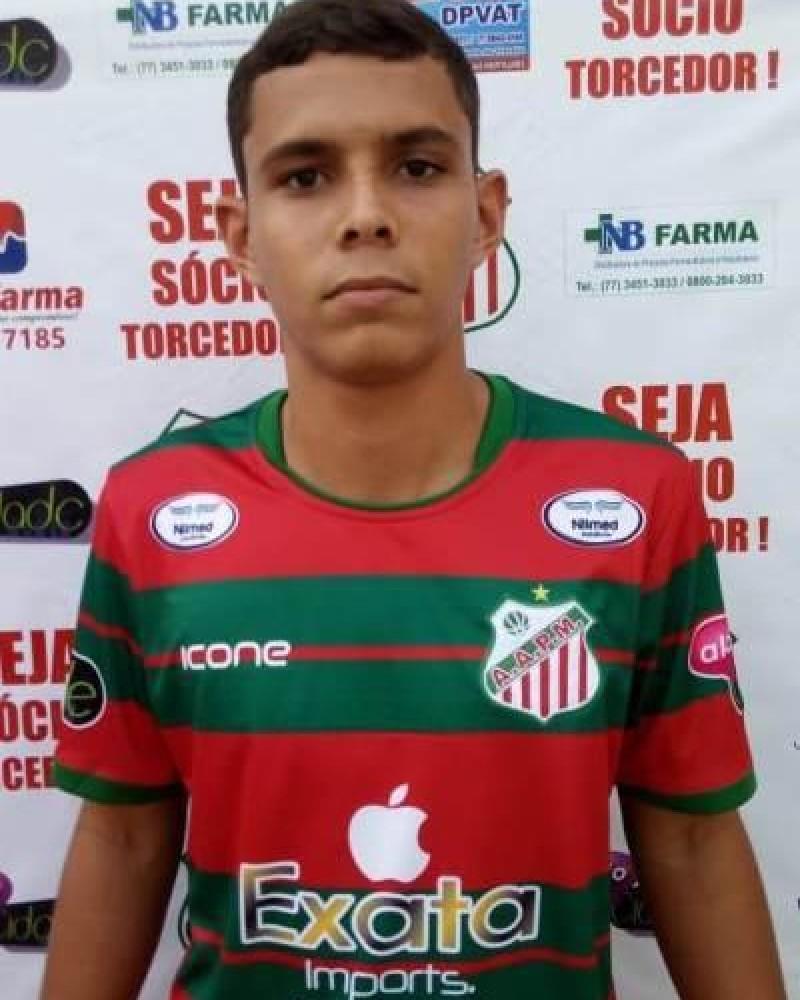 Detalhes do jogador 17 - Manoel Felipe Santos Barbalho