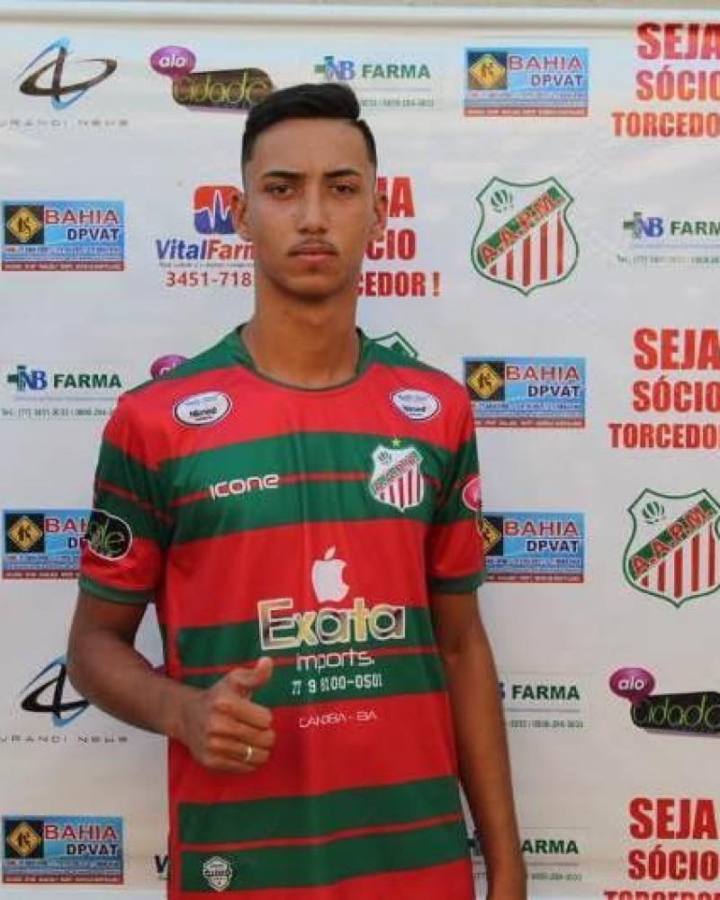 Detalhes do jogador 43 - Eric Henrique Novaes Teixeira (Tikito)