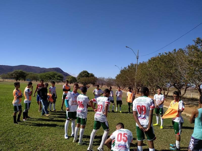Portuguesa de Mandacaru e Palmeirinha empatam em jogo preparatório no IF Baiano
