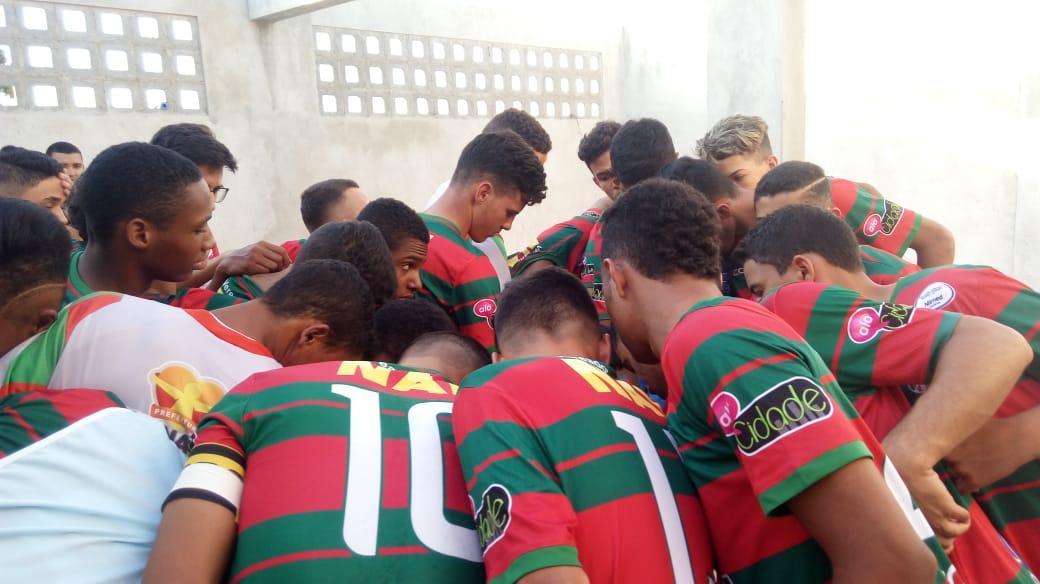 Portuguesa de Mandacaru perde para o Palmeirinhas e se complica no Campeonato Guanambiense Sub-17